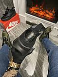 Мужские зимние кроссовки Nike Air Max 90 Sneakerboot Mid Winter Black найк аир макс 90 Ultra MID Winter Black, фото 6