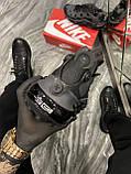 Чоловічі кросівки Nike Air Max 720 ISPA Black Grey кросівки найк аір макс іспа кросівки Nike ISPA Air Max 720, фото 6