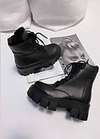 """Женские ботинки""""Черные"""" 37"""