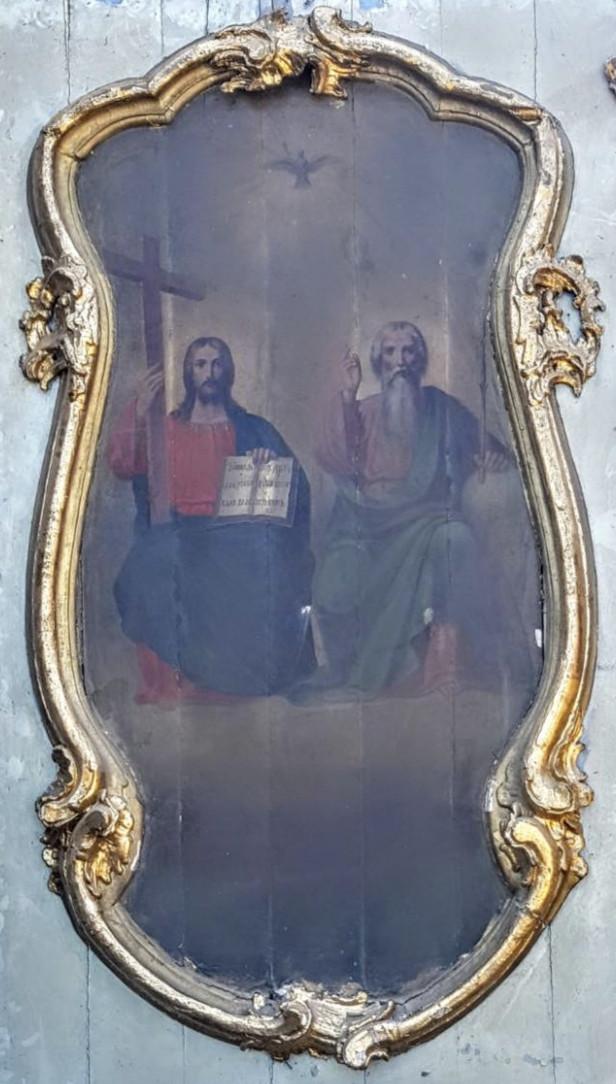 Ікона Свята Трійця 19 століття Росія