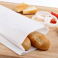 Производство пакетов для хлеба 220мм*80мм*380мм белый
