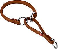 75276 Collar WauDog Soft Кожаный ошейник-удавка коричневый, 30см/6мм