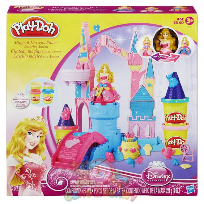 Пластилін Play-Doh Чудесний замок Аврори Play Doh A6881 (Пластилин Плей Дог Чудесный замок Авроры)