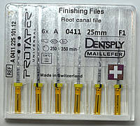 Протейперы маш. F1, уп.6шт, 25мм, А0411, (Protaper), Dentsply Maillefer