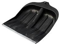 Лопата снеговая 410*450мм, черная без черенка MasterTool 14-6210