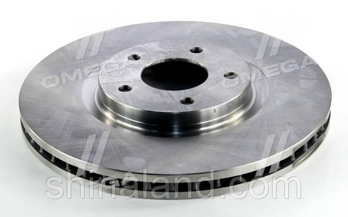 Тормозной диск NISSAN QASHQAI 07- передний (PMC-ESSENCE) OE 40206ET01A