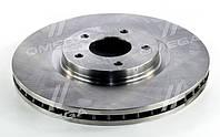 Гальмівний диск NISSAN QASHQAI 07 - передній (PMC-ESSENCE) OE 40206ET01A