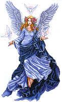 """Набор для вышивания крестом """"Celestial Angel (Небесный ангел)"""""""