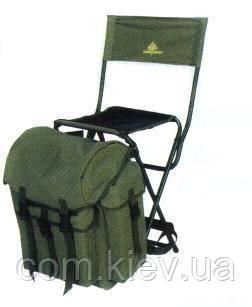 Стульчик со спинкой и рюкзаком Golden Catch.. упаковка бесплатная