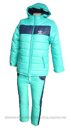 Детский костюм тёплый унисекс 7 - 10 лет