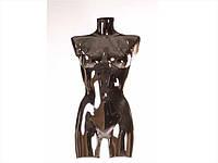 Торс женский (покрытие хром) черный