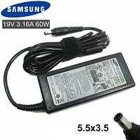 Блок питания Samsung (19V 3.15 A 60W 5.5*3.0) зарядное устройство для ноутбука