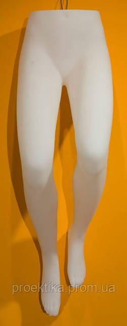 Манекен женских ног подвесной БЕЛЫЙ