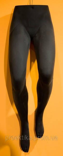 Манекен женских ног подвесной ЧЕРНЫЙ