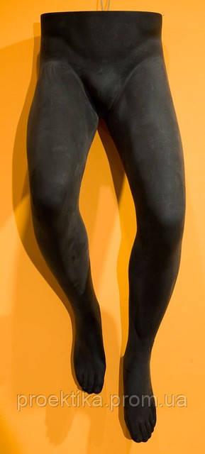 Манекен мужских ног подвесной ЧЕРНЫЙ