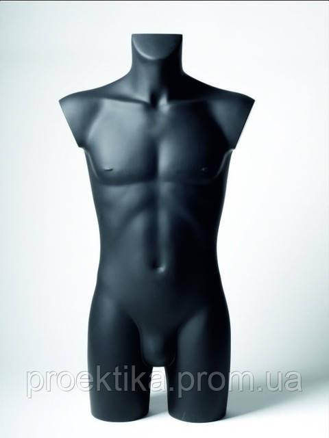 Манекен мужской черный