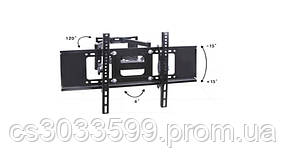 """Кронштейн для TV PiPo PP- 3270, 32 """"-46"""" -70 """", до 45 кг, кут нахилу ± 15 °, Black, Box"""