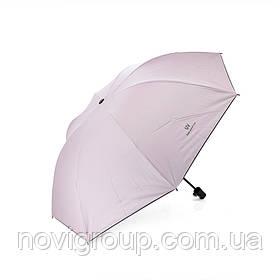 Напівавтоматична парасолька, D-96см, захист від сонця, UV (99%), захист від дощу, каркас - Al + Fe, Pink