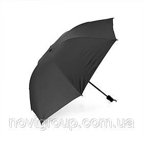 Напівавтоматична парасолька, D-96см, захист від сонця, UV (99%), захист від дощу, каркас - Al + Fe, Вlack