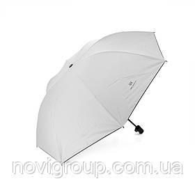 Напівавтоматична парасолька, D-96см, захист від сонця, UV (99%), захист від дощу, каркас - Al + Fe, White