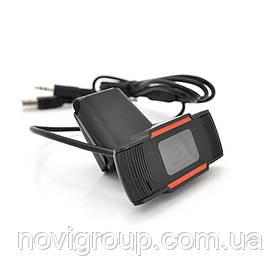 Вебкамера з гарнітурою Merlion F37, 480p, пласт. корпус, Black,