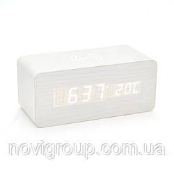 Електронний годинник з будильником