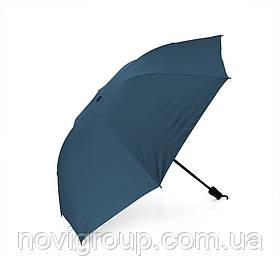 Напівавтоматична парасолька, D-96см, захист від сонця, UV (99%), захист від дощу, каркас - Al + Fe, Deep blue