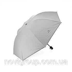 Напівавтоматична парасолька, D-96см, захист від сонця, UV (99%), захист від дощу, каркас - Al + Fe, Gray