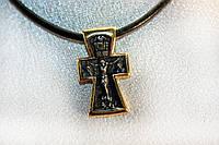 Крест с позолотой. Распятие. Богоявление