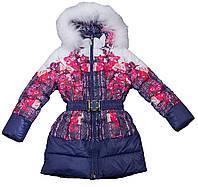 Пальто для девочки New Soon