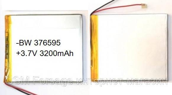 Аккумулятор универсальный 356595p 9.5 cm х 6.5 cm 3.7v 3200mah