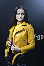 Куртка косуха жіноча Куртка женская косуха экокожа,Куртка-косуха короткая  осень/весна