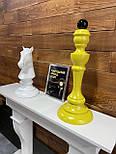 Великі шахові фігури скульптури з дерева, фото 6