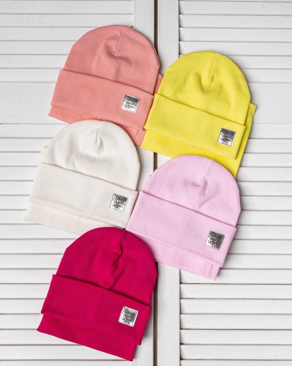 Комплект (шапка хомут) для дівчинки на весну-осінь оптом - Артикул 2793