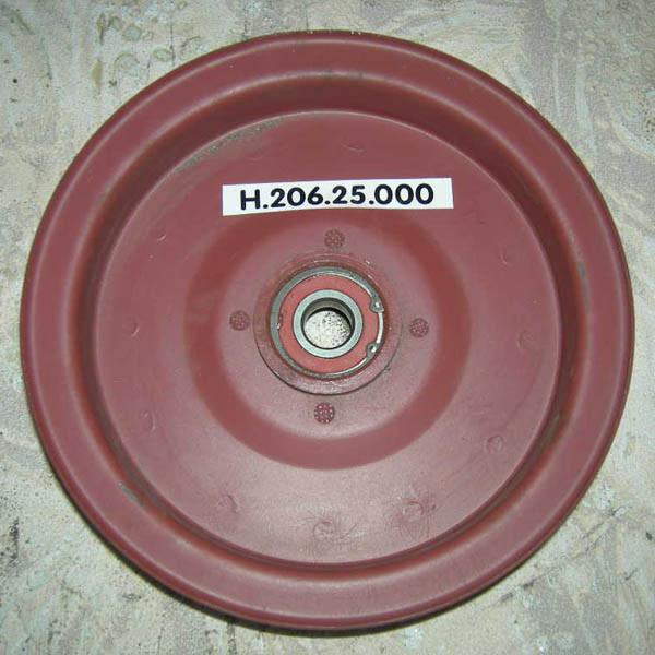 Шкив натяжной привода отбойного битера Н.206.25.000 СК-5 НИВА