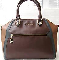 Женская классическая сумка  Farfalla Rosso Качество!