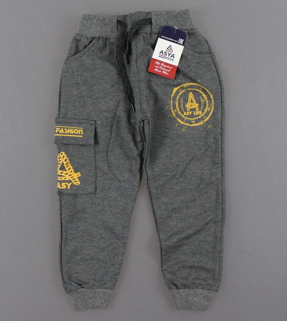 {є:1 рік,2 роки,3 роки,4 роки} Спортивні штани для хлопчиків , Артикул: T5125-т. сірий [2 роки]
