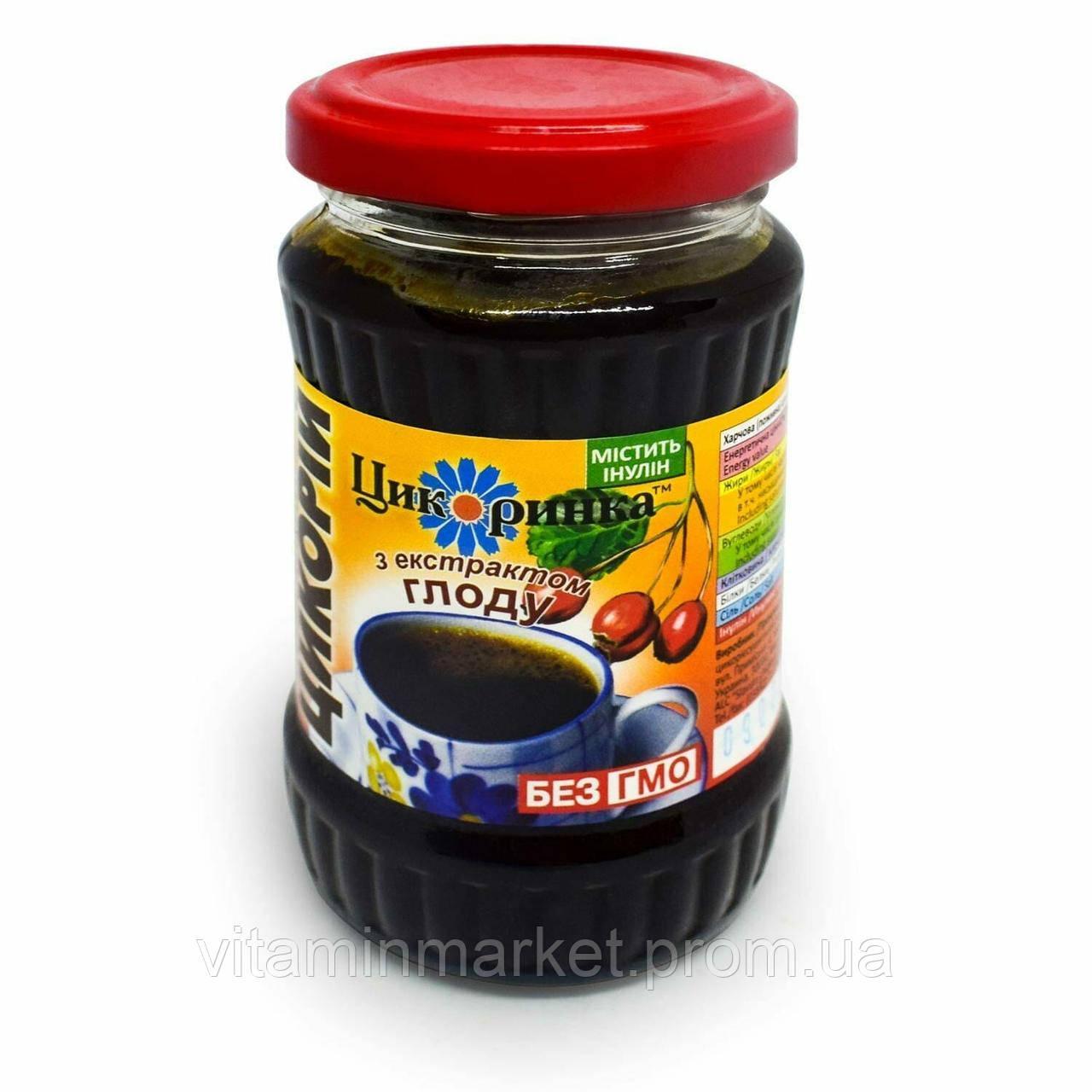 Цикорий растворимый, жидкий, с экстрактом боярышника, «Цикоринка», 200 гр.
