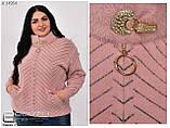 Куртка из альпаки большого размера АЛЬПАКА Украина Размеры: универсальный 50-54, фото 6