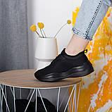 Кроссовки женские 36 размер 23,5 см Черные, фото 4