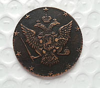10 копеек 1762 года Арматуру Барабанные палочки медь №166 копия