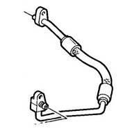 Патрубок кондиционера Fiat Doblo 1.6i 16v (верх радиатора-компресор)