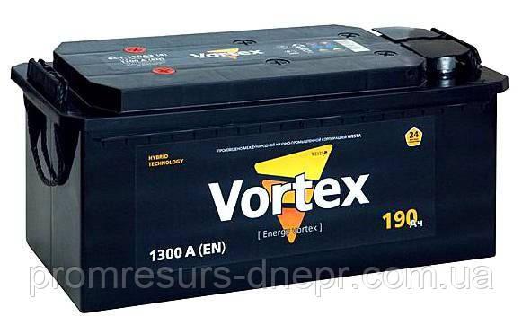 Аккумулятор автомобильный VORTEX 6СТ-200
