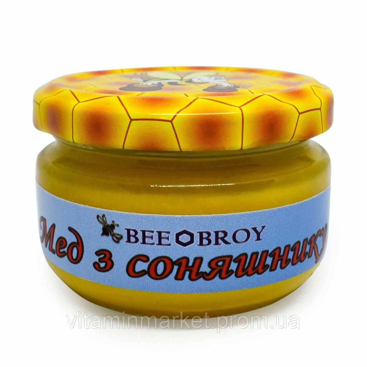 Мед из подсолнуха, «Bee Broy», 100 мл.