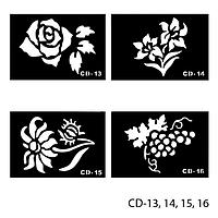 Трафареты для татуажа Lady Victory LDV CD/43-0