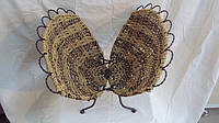 Газетница плетеная Ракушка размер 32*42*40