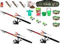 Подарочные наборы для рыбалки, универсальный набор для рыбалки, набор удочек, набор рыбака, Спиннинги!