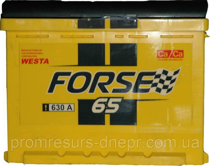 Аккумулятор  Forse 6СТ-65  купить, фото, цена, Днепропетровск