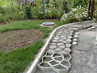 """Формы пластиковые для садовых дорожек """"Садовая дорожка"""", фото 1"""
