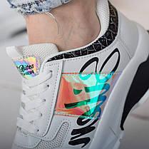Кросівки жіночі Fashion Akeem 2577 36 розмір, 23,5 см Білий, фото 3